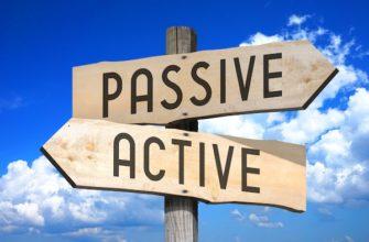 Активный и пассивный залог в английском языке. Большая сводная таблица