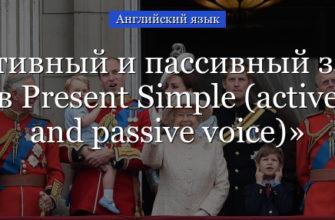 Present Simple Passive: Упражнения с Ответами и Примерами