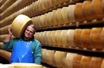 Странный банк: для чего в итальянском банке хранятся тонны сыра сорта пармезан