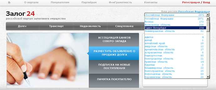 Реализация залогового имущества Российский аукционный дом*